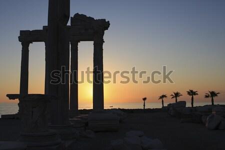Sunset in Turkey Stock photo © photoblueice