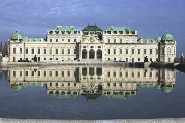 Stock photo: Belvedere Palace in Vienna Austria