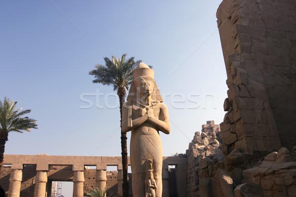 Colossus of Ramses II Stock photo © photoblueice