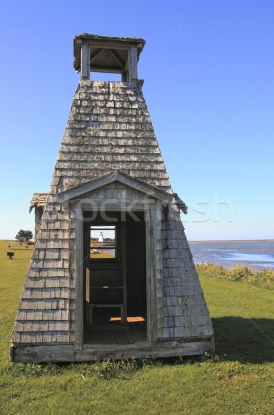Lighthouse through playhouse Stock photo © photoblueice