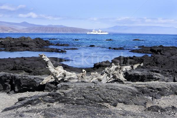 Landscape of the Galapagos Islands Stock photo © photoblueice