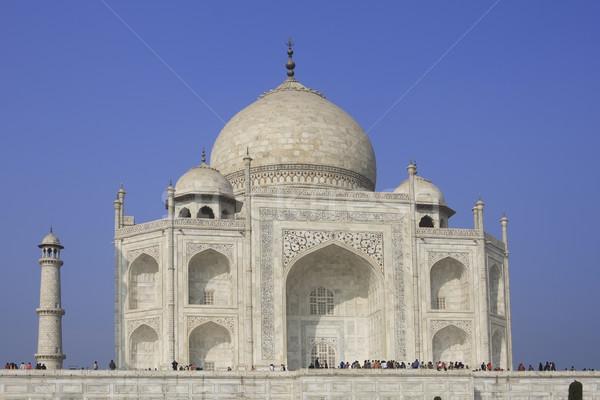 Taj Mahal Inde empereur mausolée femme Photo stock © photoblueice