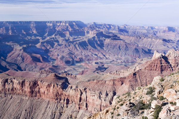 Grand Canyon ver sul Foto stock © photoblueice
