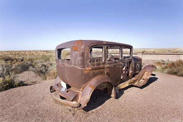 Old car Stock photo © photoblueice