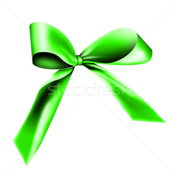 green ribbon Stock photo © photochecker