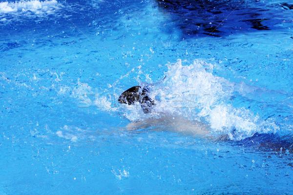 young athlete Stock photo © photochecker
