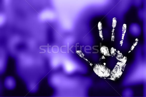 Handprint Stock photo © photochecker