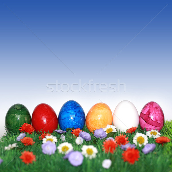 Easter with blue sky Stock photo © photochecker