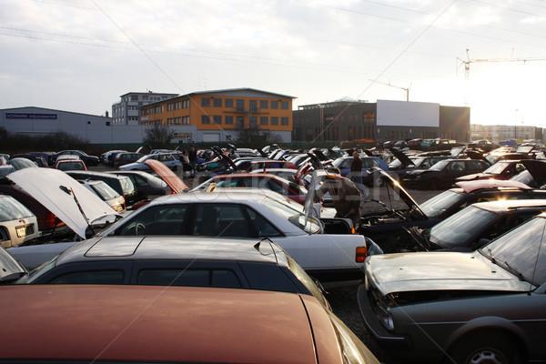 scrap yard in Germany Stock photo © photochecker
