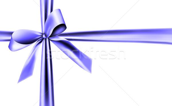 blue ribbon Stock photo © photochecker