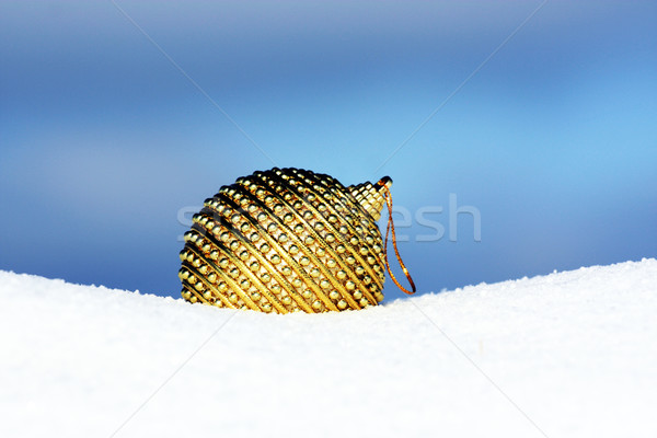 christmas bauble on beautiful background Stock photo © photochecker