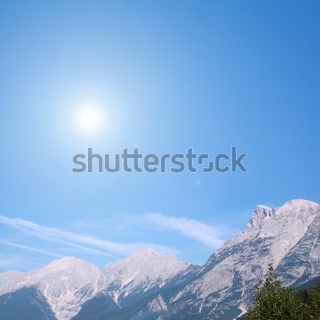 alps in the summer Stock photo © photochecker