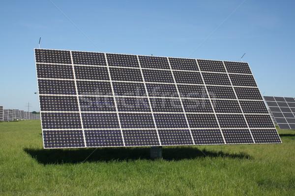 solar energy panels  Stock photo © photochecker