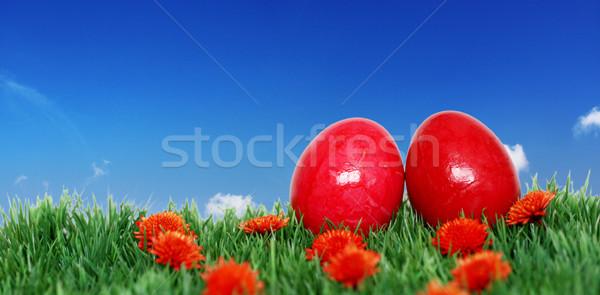 Banner for Easter  Stock photo © photochecker