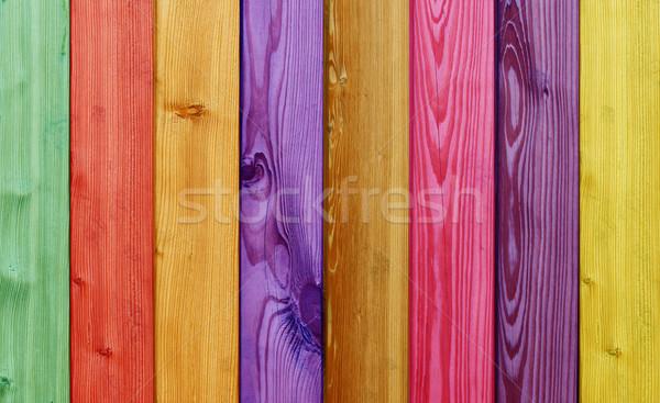 Unterschiedlich Holz Körner schönen Holz Stock foto © photochecker