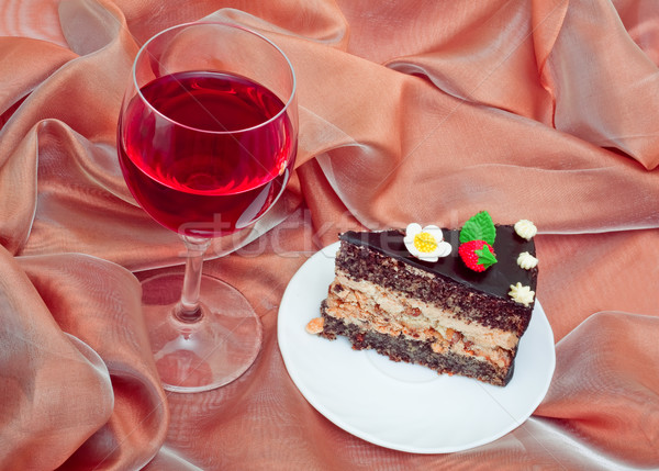 romantic dessert Stock photo © Photocrea