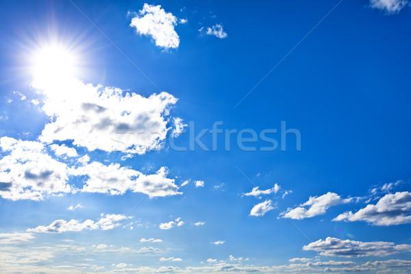 sunny sky background Stock photo © Photocrea