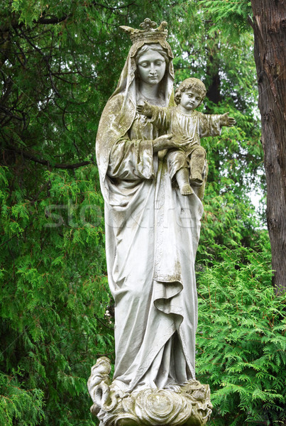 Holy Mary with the Jesus Stock photo © Photocrea