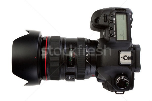 dslr photocamera isolated on white Stock photo © Photocrea