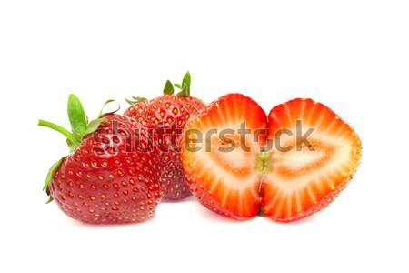 Isolated strawberrys Stock photo © Photocrea