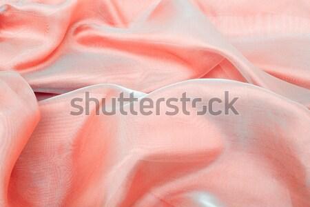 Abstract background pink chiffon organza Stock photo © Photocrea