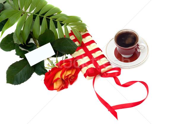 sweet gift with love Stock photo © Photocrea