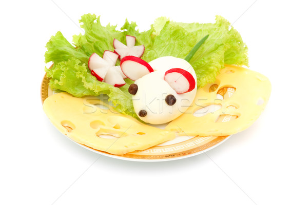 mouse egg at breakfast for your baby  Stock photo © Photocrea