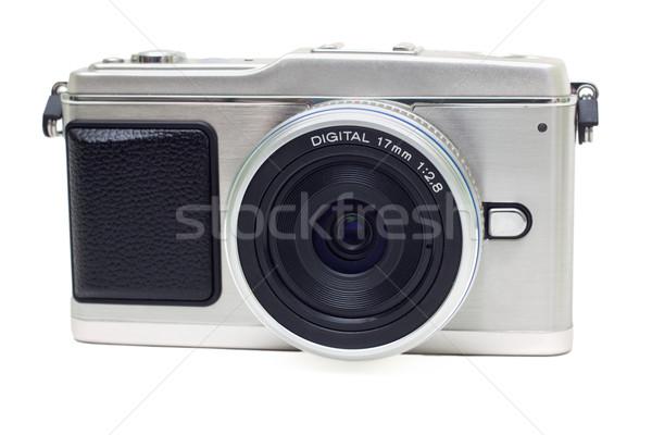 digital photocamera isolated on white Stock photo © Photocrea