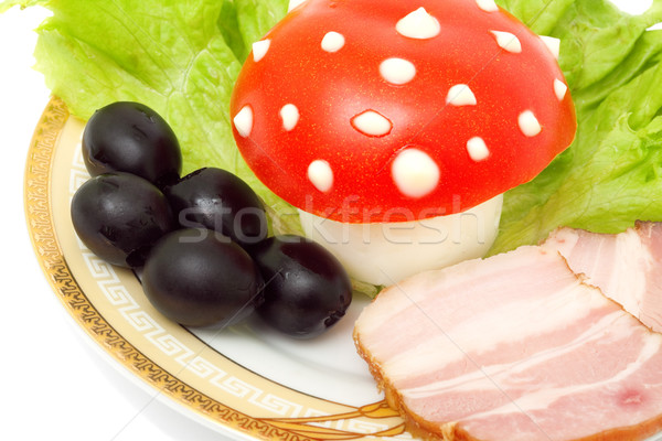 funny food Stock photo © Photocrea