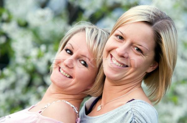 Happy sisters  Stock photo © photocreo