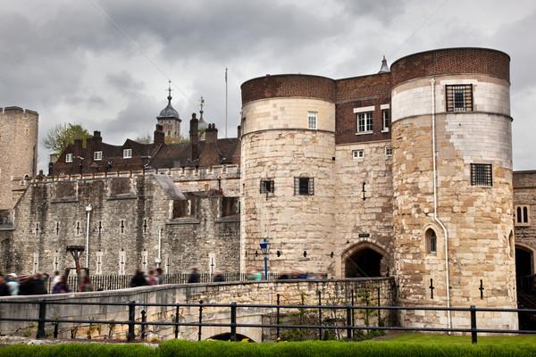 Torre Londres histórico real palacio fortaleza Foto stock © photocreo