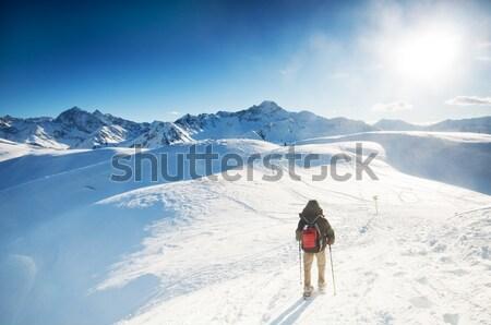 Mountain trekking Stock photo © photocreo