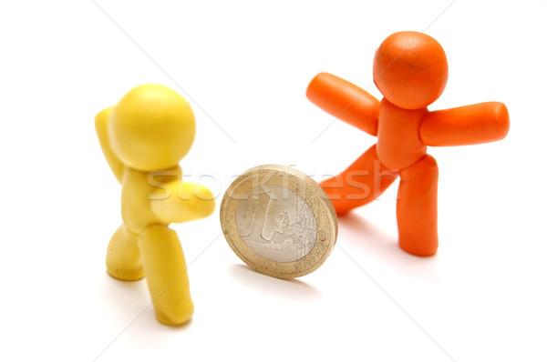 деньги конкуренция соперничество другой бизнеса семьи Сток-фото © photocreo