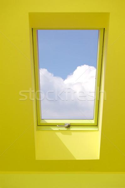 View through the window. Stock photo © photocreo