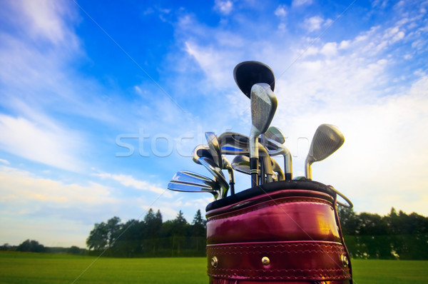 Golf gear Stock photo © photocreo