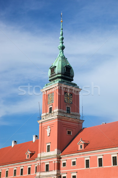 Royal Castle in Warsaw, Poland Stock photo © photocreo