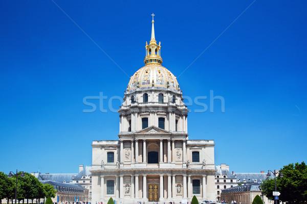 Les Invalides, Paris, France Stock photo © photocreo