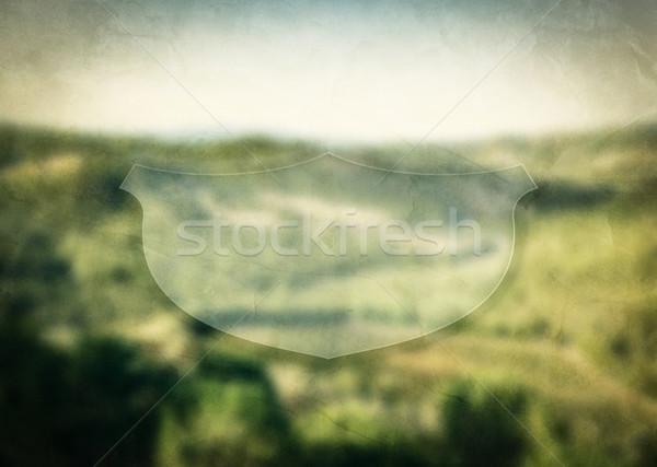 空っぽ バナー インスピレーション やる気を起こさせる メッセージ 自然 ストックフォト © photocreo
