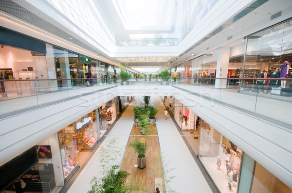 Modern shopping mall Stock photo © photocreo