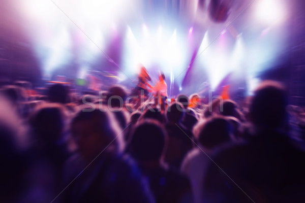 People on music concert Stock photo © photocreo