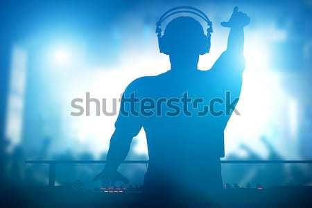 Club disco jugando música personas vida nocturna Foto stock © photocreo