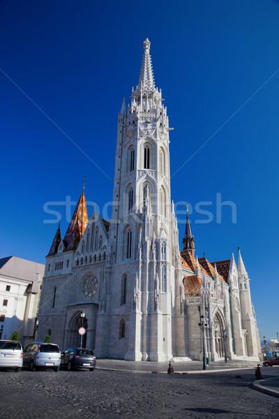Matthias Church. Budapest, Hungary Stock photo © photocreo