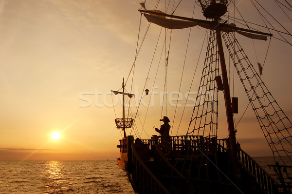 Pirate ship Stock photo © photocreo