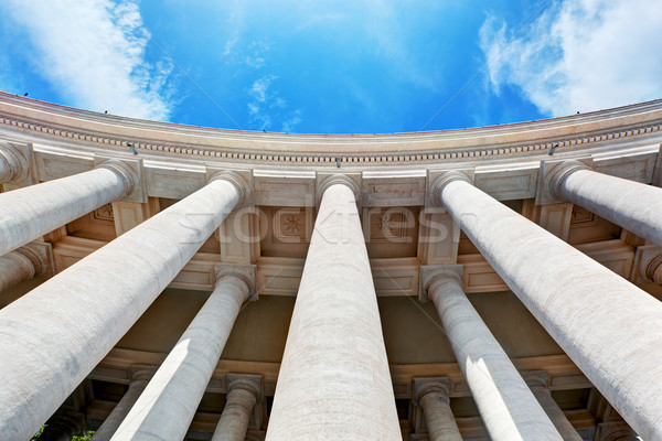 St. Peter's Basilica colonnades, columns in Vatican City. Stock photo © photocreo
