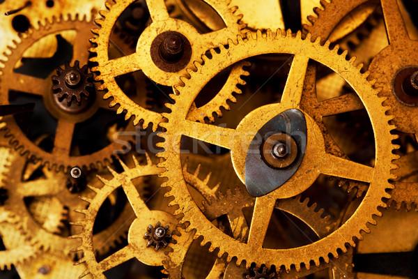 Grunge attrezzi Cog ruote industriali scienza Foto d'archivio © photocreo