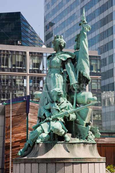 Statue in La Defense, Paris, France Stock photo © photocreo