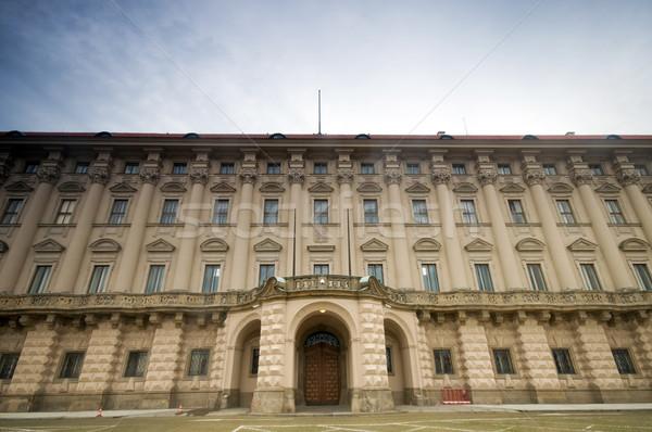 Paleis Praag ministerie buitenlands gebouw Stockfoto © photocreo