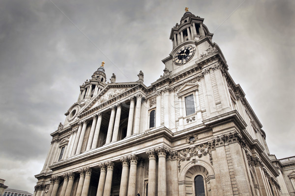 St Paul's Cathedral in London, the UK. Stock photo © photocreo