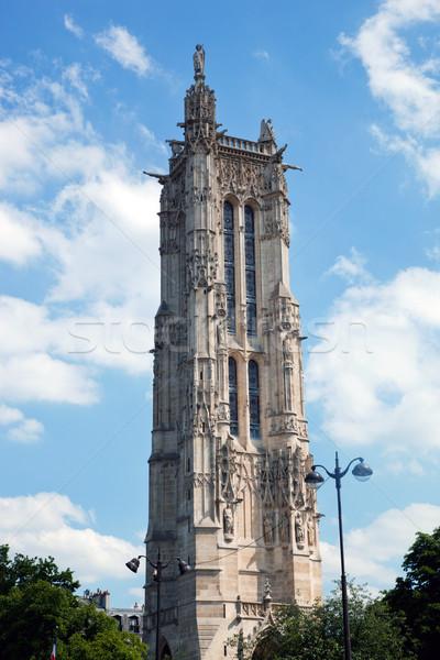 Tour Saint Jacques, Paris, France Stock photo © photocreo