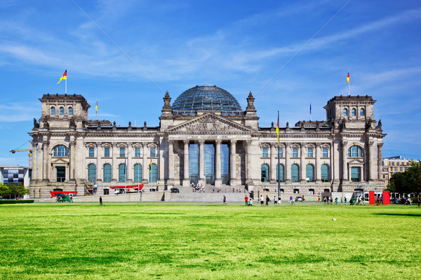 The Reichstag building. Berlin, Germany Stock photo © photocreo